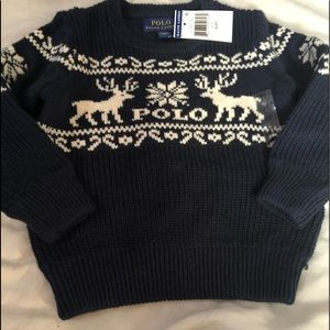 NWT Ralph Lauren Polo sweater size 2T